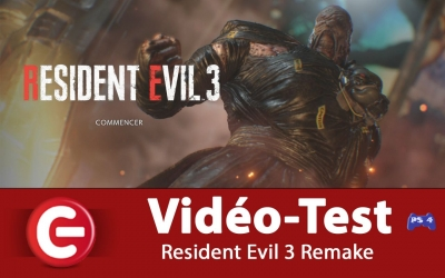Test vidéo [VIDEO TEST] Resident Evil 3 Remake, Un amour de Nemesis !?